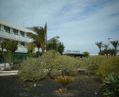 Outside The H10 Lanzarote Princess Hotel